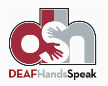 DEAF Hands Speak logo