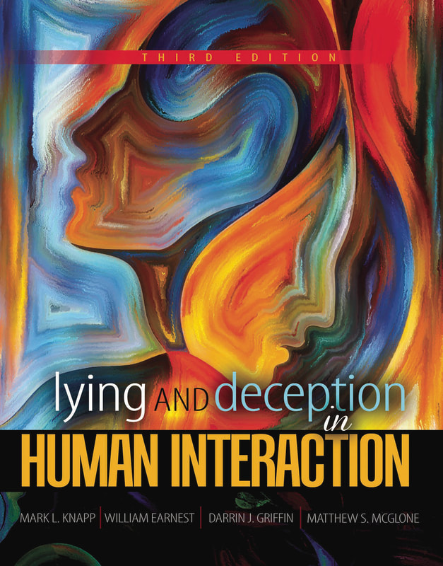 Book Cover for Lying and Deception Textbook